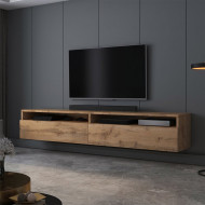Comoda TV Rednaw, Maro, 180 x 30 x 31 cm