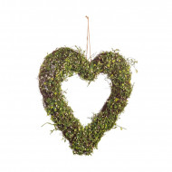 Coroana decorativa Evergreen Heart, 31cm