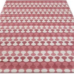 Covor Andas, roz, 200 x 200 cm