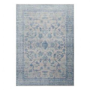 Covor Bright azur/gri, 150x80 cm