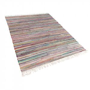 Covor Danca, tesut manual, multicolor deschis, 160 x 230 cm