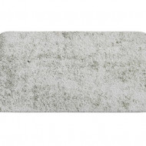 Covor de baie Gile, gri, 50 x 80 cm