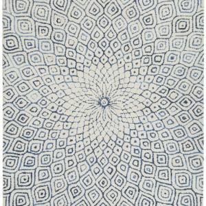 Covor de lână Fleur tuftat manual, 160 x 230 cm