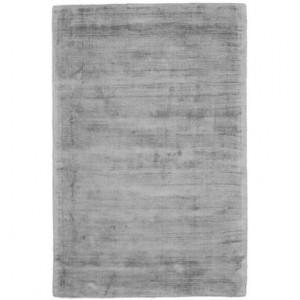 Covor din vascoza tesut manual Jane, 120 x 180 cm, gri