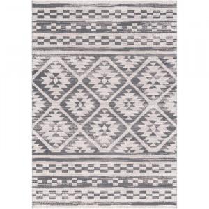 Covor Dupuy, gri/alb, 160 x 230 cm