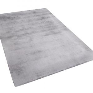 Covor GESI, viscoza/bumbac, gri, 140 x 200 cm