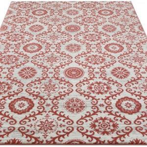 Covor JSilas by Home Affaire, alb/roz 60 x 90 cm
