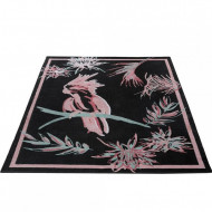 Covor Kakadu by GMK Home & Living 80 x150 cm, negru