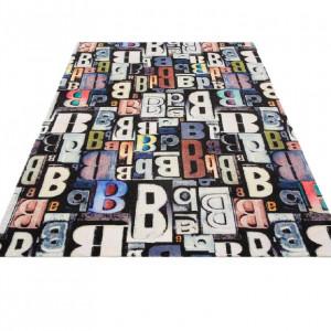 Covor Letter by Bruno Banani 80 x 150, multicolor