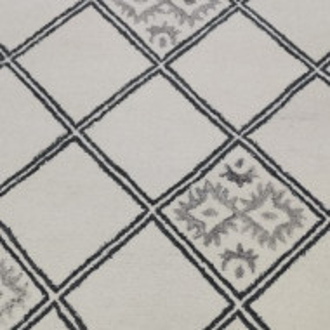 Covor Marokko, crem / gri, 60 x 90 cm