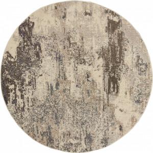 Covor rotund Celestial bej, d. 160cm