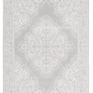 Covor Salima, din bumbac tesut manual, gri 200 x 300cm