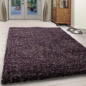 Covor Shaggy-Teppich, lila, 120 cm x 170 cm