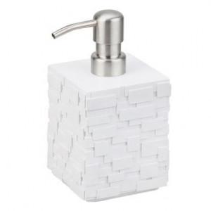 Dispenser pentru săpun lichid Wall, alb