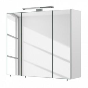 Dulapior cu oglinda Grado PAL, alb, 60 x 20 x 70 cm