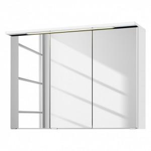 Dulapior cu oglinda Zeehan alb 90cm