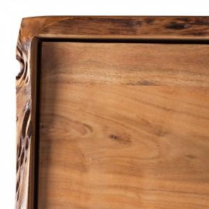Dulapior suspendat Ashby din lemn masiv
