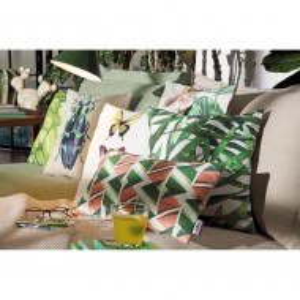 Fata de perna Tom Taylor Modern Graphics - roz/verde