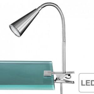 Lampa LED Arcos metal, argintiu, 1 bec, rotunda, 240 V