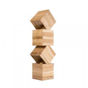 Lampadar Avocet, lemn masiv, 53 x 15 x 13 cm, 35w