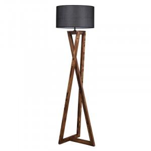 Lampadar Kovary, maro/gri, 24 x 45 x 166 cm, 60w