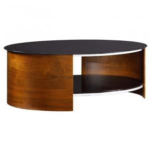Masa de cafea Sunterra, maro/negru, 45,7 x 119,4 x 66 cm