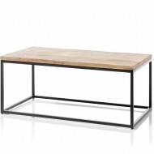 Masa Onest, lemn masiv/ metal, 45 x 60 x 110 cm