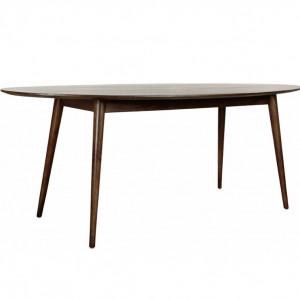 Masa Oscar, maro, lemn masiv, 203 x 97 x 76 cm