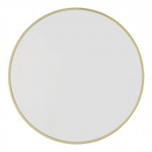 Oglinda de perete Amaliya, metal, 60,94 x 60,94 x 2 cm