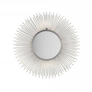 Oglinda de perete Cilly, argintiu, 80 x 80 cm