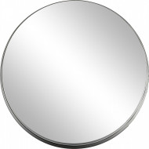 Oglinda de perete cu cadru metalic, 51 x 3 cm