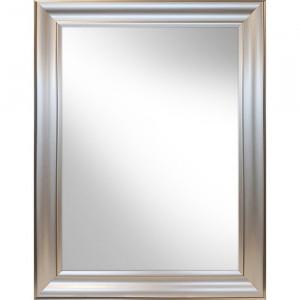 Oglinda de perete Higgenbotham, argintiu, 84 x 64 cm