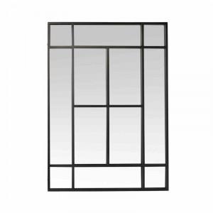 Oglinda Harldson, negru, 140 x 100 x 3 cm
