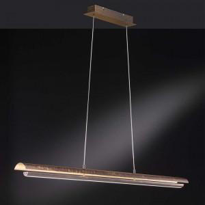 Pendul LED Rodez fier, maro, 1 bec, 22 W