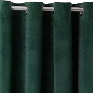Perdea Faywood Eyelet, verde, 140 x 270 cm