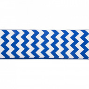 Pernă Toscana pentru bancă, albastru / alb, 169 x 50 cm
