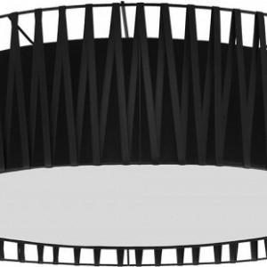 Plafoniera Harmony din metal, negru, 71 x 20cm