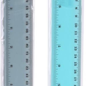 Rigla transparenta Karll, 30cm
