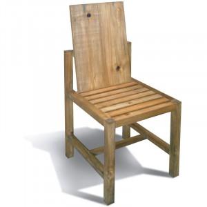 Scaun Aaron, lemn masiv, maro, 104 x 46 x 54 cm