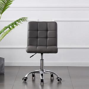 Scaun de birou Gilderdale, gri, 12,4cm H x 40,4cm L x 39,6cm D