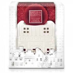 Set cadou Casuta din ceramica si Ceară parfumată, Baylis & Harding