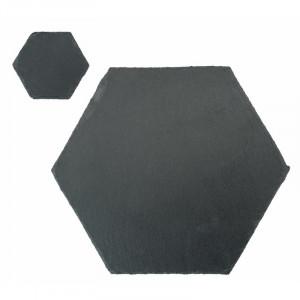 Set de 12 naproane Argon, negru