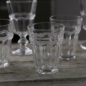 Set de 6 pahare Floyd, transparente, 9 x 11 cm