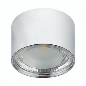 Spot LED Serena sticla/fier, argintiu, 1 bec, diametru 11 cm, 230 V