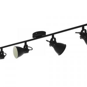 Spotlight Seras, metal, negru, 77 x 10 x 7 cm, 33w