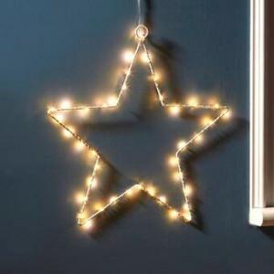 Stea decorativa Craciun pentru fereastra, LED