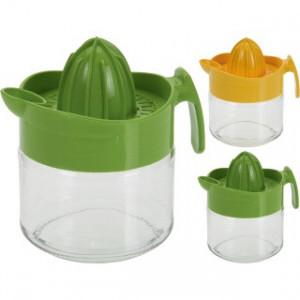 Storcator citrice Karll plastic/ sticla, verde/ galben
