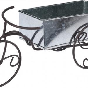 Suport pentru flori Karll Bicicleta antique din zinc