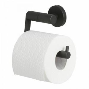 Suport pentru hartie igienica Boston, negru mat