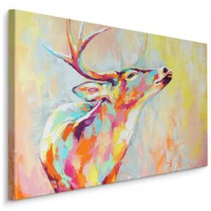 "Tablou ""Cerb"", multicolor, 70 x 100 x 2 cm"